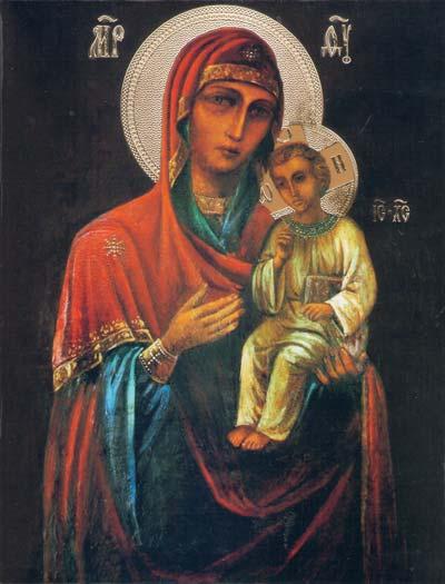 Икона Пресвятой Богородицы Песчанская
